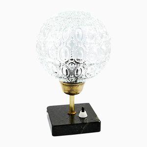 Deutsche Tischlampe mit Marmorfuß, 1960er