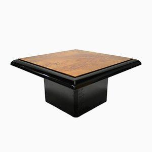 Tavolino da caffè in radica, 1975