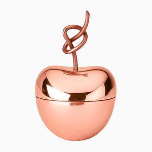Small Knotted Cherry Box by N. Zupanc for Ghidini 1961
