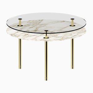 Esstisch mit runden Tischbeinen von P. Rizzatto für Ghidini 1961