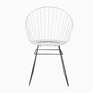 Chaise en Métal Mid-Century par D. Dekker pour Tomado