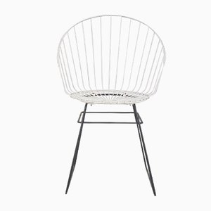 Mid-Century Wire Chair by D. Dekker for Tomado