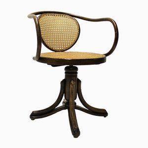 Sedia da scrivania nr. 5501 antica di Michael Thonet, inizio XX secolo