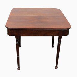 Tavolo da gioco in mogano, anni '40