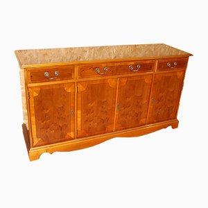 Mahogany 3-Drawer Sideboard, 1960s