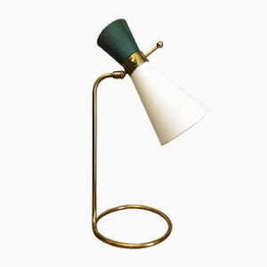 Large Diabolo Lamp from Arlus, 1950s