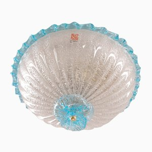 Vintage Murano Glass Flush Mount from Barovier and Toso