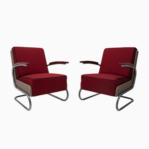 Model FN24 Armchairs by Willem Hendrik Gispen for Kovona, 1950s, Set of 2