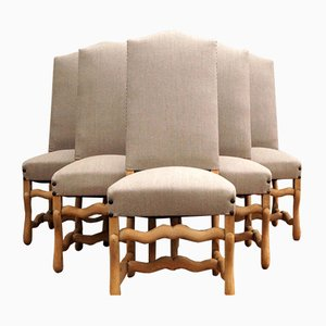 Mid-Century Os De Mouton Chairs, Set of 6