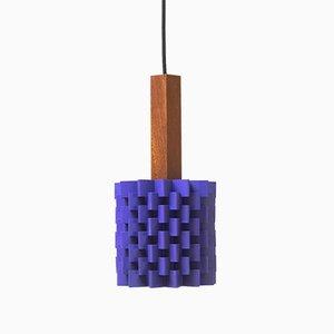 Lámpara colgante de Niels Esmann & Hans C. Jensen para Nordisk Solar, años 60
