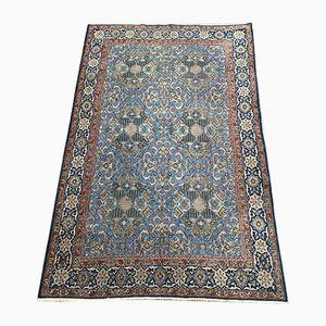 Geblümter orientalischer Vintage Teppich, 1950er