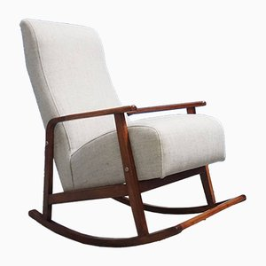 Mid-Century Danish Rocking Chair, 1960s