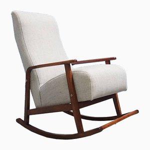 Rocking Chair Mid-Century, Danemark, 1960s