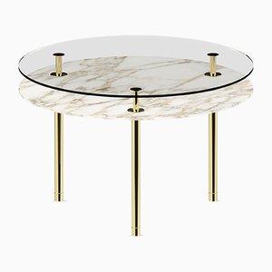 Table à Pieds Ronds par P. Rizzatto pour Ghidini 1961