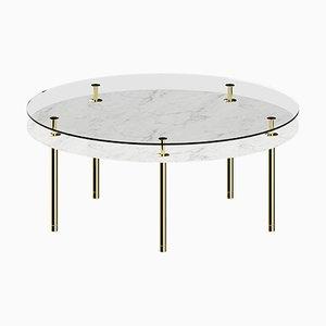 Table Basse à Pieds Ronds par P. Rizzatto pour Ghidini 1961