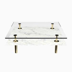 Tavolo quadrato Legs di P. Rizzatto per Ghidini 1961