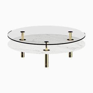 Tavolino da caffè rotondo Legs di P. Rizzatto per Ghidini 1961