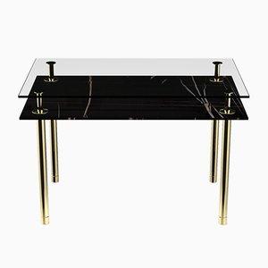 Tavolino da caffè rettangolare Legs di P. Rizzatto per Ghidini 1961