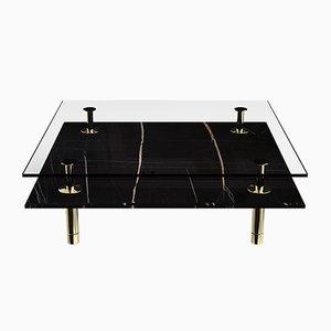 Tavolino da caffè quadrato Legs di P. Rizzatto per Ghidini 1961