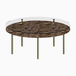 Mesa de comedor Legs redonda de P. Rizzatto para Ghidini 1961