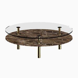 Round Legs Coffee Table by P. Rizzatto for Ghidini 1961