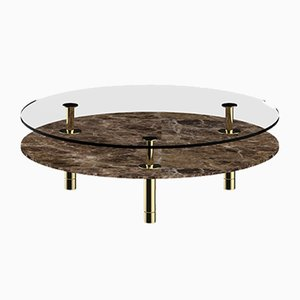 Round Legs Coffee Table by P. Rizzatto for Ghidini 1961