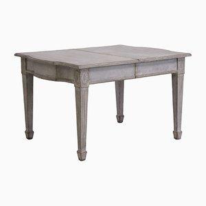 Tavolo allungabile gustaviano, XIX secolo