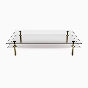 Rectangular Legs Coffee Table by P. Rizzatto for Ghidini 1961