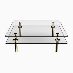 Square Legs Coffee Table by P. Rizzatto for Ghidini 1961