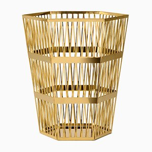 Medium Tip Top Paper Basket by R. Hutten for Ghidini 1961