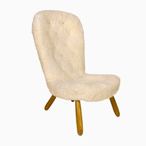 Swedish Bergere Lounge Chair by Philip Arctander, 1950s