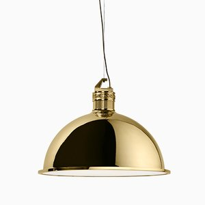 Medium Factory Suspension Light by E. Giovannoni for Ghidini 1961