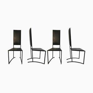 Vintage Stühle, 1980er, 4er Set