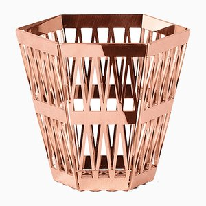 Tip Top Pencil Holder in Copper by R. Hutten for Ghidini 1961