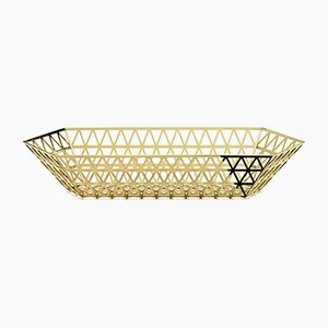 Tip Top Gold Limousine Tray by R. Hutten for Ghidini 1961