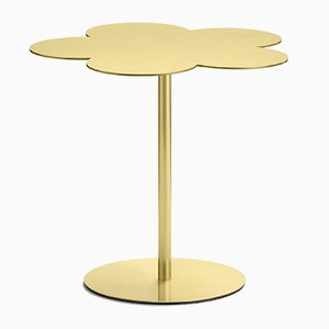 Flowers Medium Side Table in Brass by S. Giovannoni for Ghidini 1961