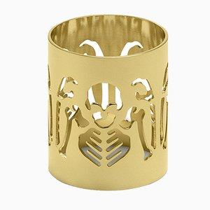 Gold Perished Napkin Holder by Studio Job for Ghidini 1961