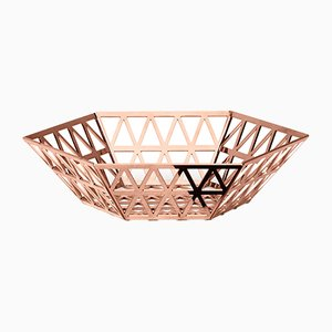 Tip Top Medium Tray in Copper by R. Hutten for Ghidini 1961