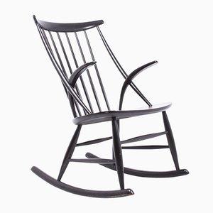 Mid-Century Rocking Chair by Illum Wikkelsø