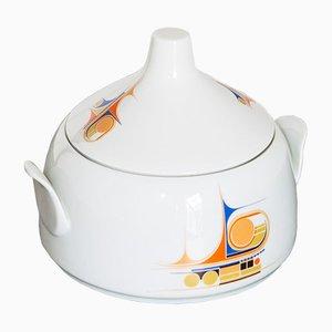 Cuenco de porcelana de Ancàp, años 60