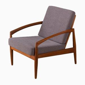 Paper Knife Chair von Kai Kristiansen für Magnus Oleson, 1950er