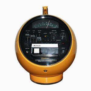 Radio nr. 2001 sferica con mangianastri di Weltron, anni '70