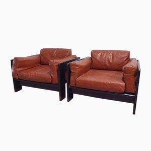 Bastiano Stühle von Tobia & Afra Scarpa für Gavina, 1962, 2er Set