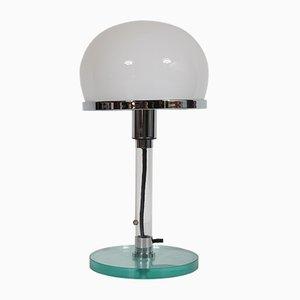 Lámpara de mesa Bauhaus de Wilhelm Wagenfeld, años 80