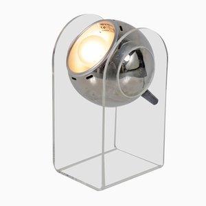 Lámpara de mesa vintage de Gino Sarfatti para Insta Sensorette