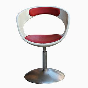 Space Age Fiberglass Swivel Chair, 1970s