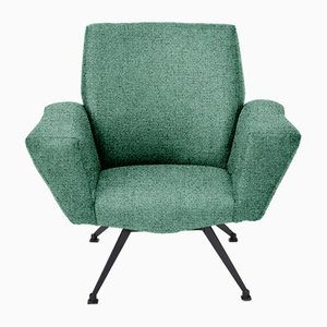 Customizable Italian Model 548 Lounge Chair from Lenzi, 1960s