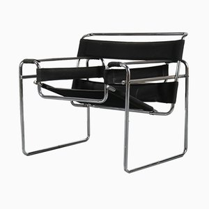 Vintage Wassily Armchair by Marcel Breuer for Gavina