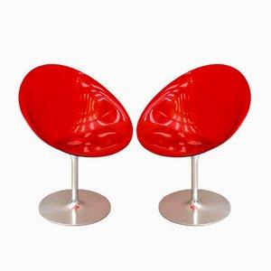 Sedie Eros di Philippe Starck per Kartell, inizio XXI secolo, set di 2