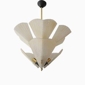 Lámpara de araña Mid-Century de Kalmar, años 50